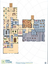 Park Towne Place Apartments - Towne Hall Floor Plan