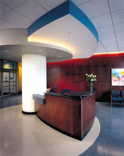 Eye, Replacement Hospital - Surgi Center Lobby